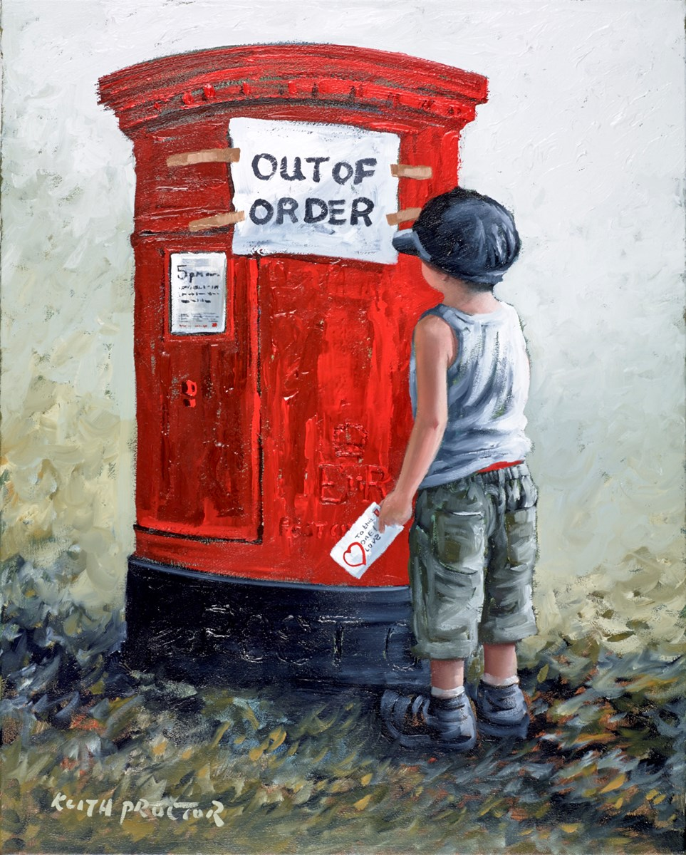 To the One I Love III by keith proctor -  sized 24x30 inches. Available from Whitewall Galleries